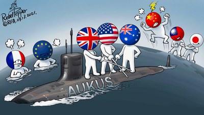 变态辣椒:澳英美签署新安全协议
