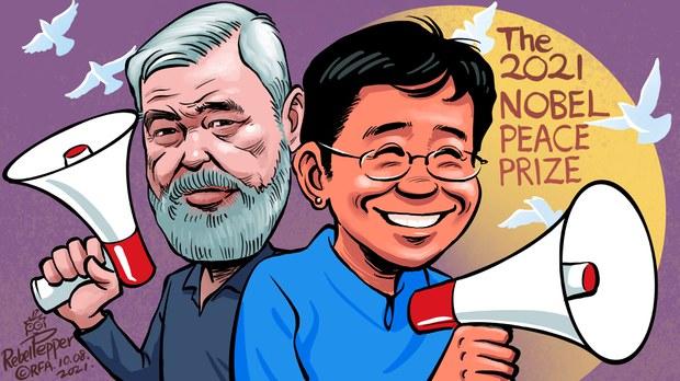变态辣椒:2021年诺贝尔和平奖