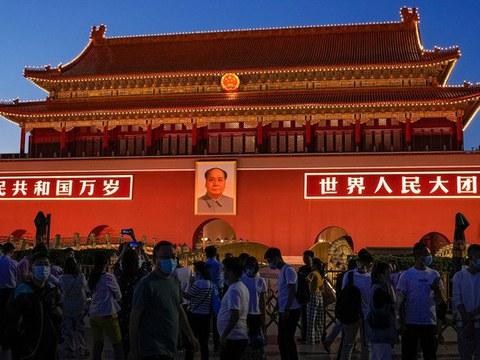 中共百年党庆。