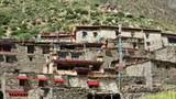 Limi山谷的村庄。