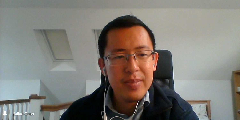 英国港侨协会公共事务部主管Julian Chan提出多项建议,包括加快国民保险号码(NINO)的申请程序;向雇主、商会等招聘机构提供清晰指引,令他们认识BNO签证的就业权利;为港人提供英语培训等。 (英国港侨协会网上发布会截图)