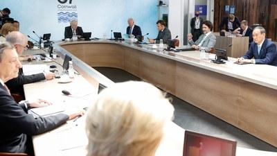 G7峰会公报首次提到维持台海和平稳定的重要。