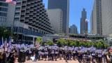 """旧金山数百人""""如水再聚""""  纪念香港612事件两周年"""