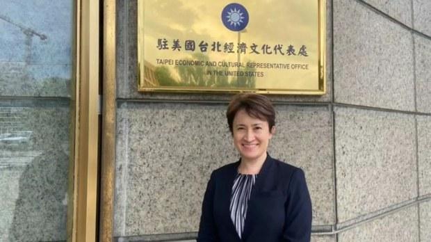 台湾驻美国代表萧美琴(台湾外交部资料图)