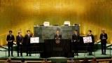 """韩国""""防弹少年团""""联合国演讲被批辱华   帕劳总统呼吁接纳台湾"""