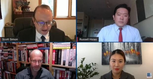 多位专家在论坛中分享意见,说明台湾加入国际组织的利益。