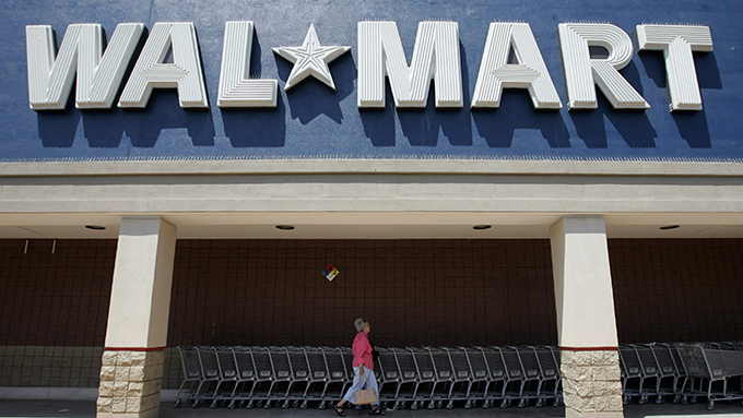 美国沃尔玛公司的一家商店(美联社资料图)