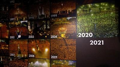 """支联会举办""""六四烛光晚会""""已有30年,虽然不断有人提出""""历史只懂向前看"""",但不少香港人仍未能忘记当年的伤痛。"""