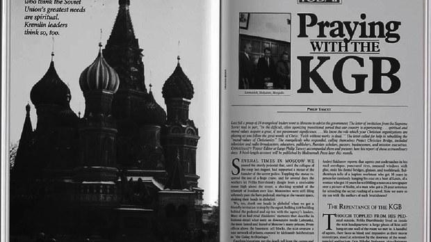 专栏   北明非常识:苏联解体的精神现象(2):克格勃头子忏悔,国安部首次祷告