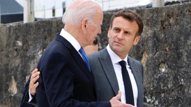 AUKUS的组成使澳大利亚取消了与法国的400亿美元潜舰合约,激怒了法国,也惹恼欧盟。(法新社)