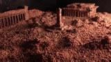 本节目华盛顿手记八九六四亲历口述人郭健及他的艺术装置作品:160公斤碎肉末堆砌的天安门广场。