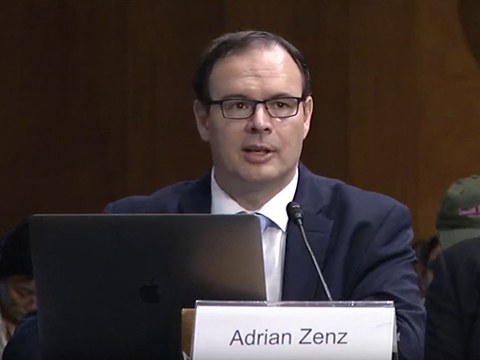 德国的新疆问题专家曾德恩(Adrian Zenz)