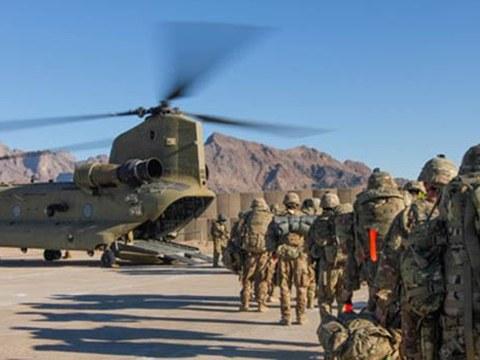 美国从阿富汗撤军进行战略转型。